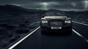 rolls royce roof dawn gets darker with rolls royce black badge trim roadshow