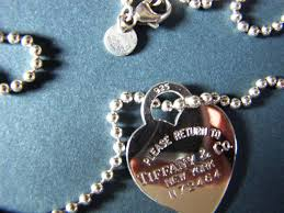 heart tag necklace tiffany images Tiffany co return to tiffany heart tag n 72464 pendant with jpg
