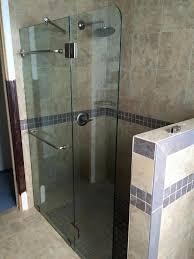 Shower Door Water Guard Frameless Shower Splash Guards Superior Frameless Showers
