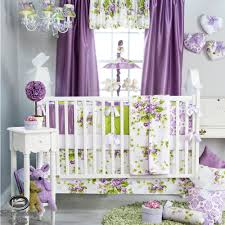 girls pink and purple bedding baby purple lavender green babies quilt crib nursery