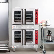 imperial convection oven pilot light performance group fgc200l double deck full size liquid propane
