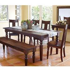 Benches For Dining Room Tables I Wish My Dining Room Could Fit This Table It Matches My Living