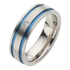 Mens Titanium Wedding Rings by Titanium Rings H Samuel