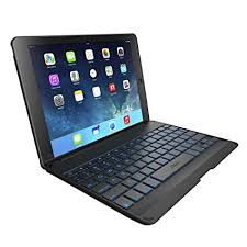 amazon keyboard black friday amazon com zagg folio case with backlit bluetooth keyboard for
