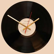 classic songs vinyl clocks
