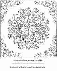 free mandala coloring pages print www kanjireactor