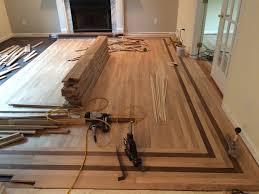 Hardwood Floor Doorway Transition Flooring Installing Woodoors On Stairs With Curvesinstalling