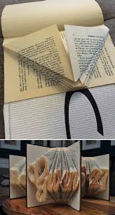easy and free book folding pattern 10 awe inspiring book folding
