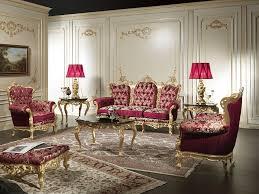 Luxury Livingrooms Living Room In Baroque Style