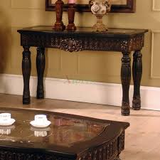 Living Spaces Coffee Table by Ajax Faux Marble Inlay Sofa Table Living Space Furniture Xiorex