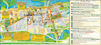 charleston trolley map maps update 564431 st augustine tourist attractions map