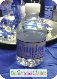 favors for class reunions class reunion ideas high school reunion custom water bottles