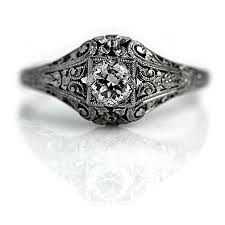 the blog at vintagediamondrings com art deco engagement rings a
