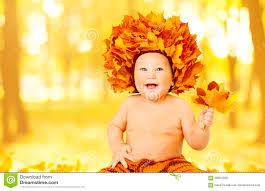 cute baby boy autumn leaves wallpapers autumn baby portrait in fall yellow leaves little stock photo
