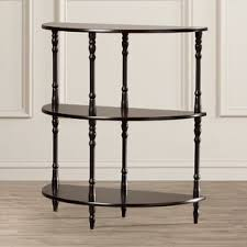 Half Moon Side Table Half Circle End Side Tables You Ll Wayfair
