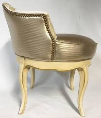 alluring swivel vanity stool vintage french style chinoiserie