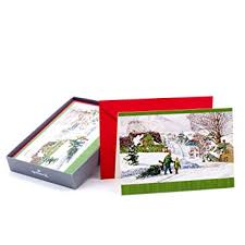 hallmark boxed cards kinkade