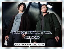Supernatural Birthday Meme - supernatural birthday card gangcraft net