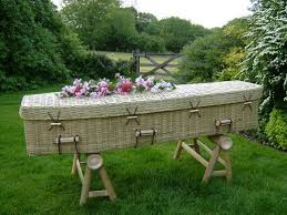 wicker casket grave matters a journey through the modern funeral industry to a