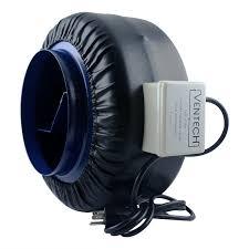 ventech vt if 8 inline exhaust fan blower centrifugal fan 8