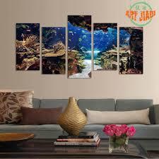 Home Aquarium Decorations Online Get Cheap Painting Aquarium Aliexpress Com Alibaba Group