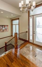 remove open up wall down to basement love the idea from www