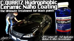 lexus isf battery size amazing shine cquartz uk hydrophobic ceramic nano paint coating