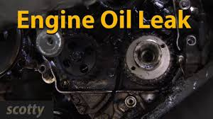 how to fix engine oil leaks youtube