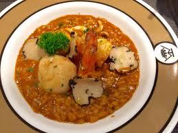de la cuisine seafood risotto ร าน maison de la truffe สยามพารากอน wongnai
