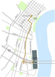 New Orleans Street Car Map by Maps Directions And Nearby Attractions New Orleans Bed U0026 Breakfast