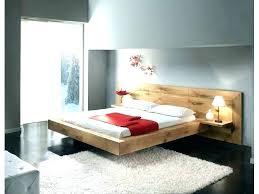 lit chambre lit contemporain bois chambre moderne bois massif lit massif