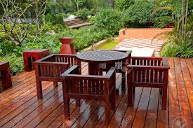 Garden Wood Chairs Garden Furniture Stock Photos U0026 Pictures Royalty Free Garden
