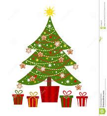 christmas tree with presents u2013 happy holidays