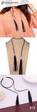 black choker necklace diy images The new necklace 39 ways to wear the hottest jewelry style now jpg