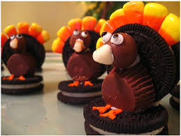 oreo turkey treats things to make and do crafts and activities