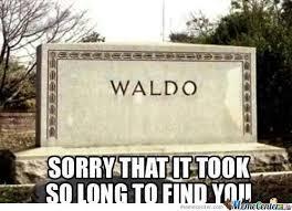 Waldo Meme - bye waldo by marcoa84 meme center