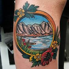 36 beautiful scenery tattoos