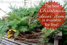 simple christmas planters using christmas tree clippings the