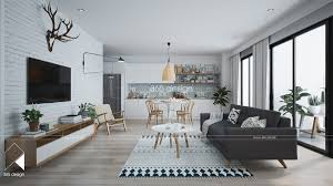 Home Interior Plan Modern Scandinavian Design For Home Interior Completed With Kids
