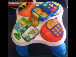 fisher price laugh learn puppy friends learning table fisher price laugh learn fun with friends musical table gioco
