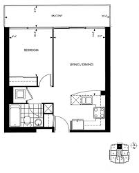 1 bedroom floor plan 18 yorkville avenue annex toronto condominiums 1 bedroom floor
