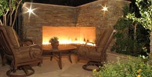 Backyard Corner Landscaping Ideas Backyard Landscaping Ideas Exterior Fireplaces Meant To Enhance
