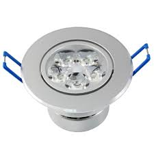 wholesale dimmable 3w 4w 5w ceiling downlight led lamp recessed