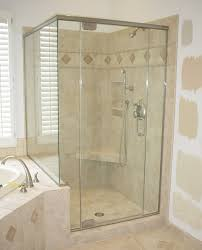 shower glass panel furniture ideas
