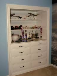 built in closet dresser plans home design ideas