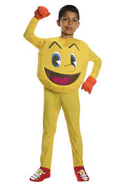 cheap halloween costumes for men pac man deluxe child costume