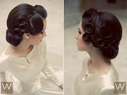 hairstyles pin curls vintage pin curls for nostalgic brides mon cheri bridals