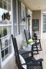 7 porch decorating ideas for spring southern front porches