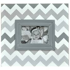great ways to add chevron to your nursery the boys depot blog gray chevron picture frame and the chevron monogram wall decal