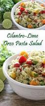 cilantro lime orzo pasta salad perfect for summer picnics